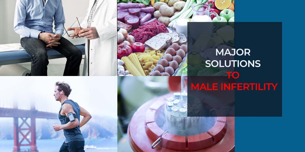 Major solutions to male infertility
