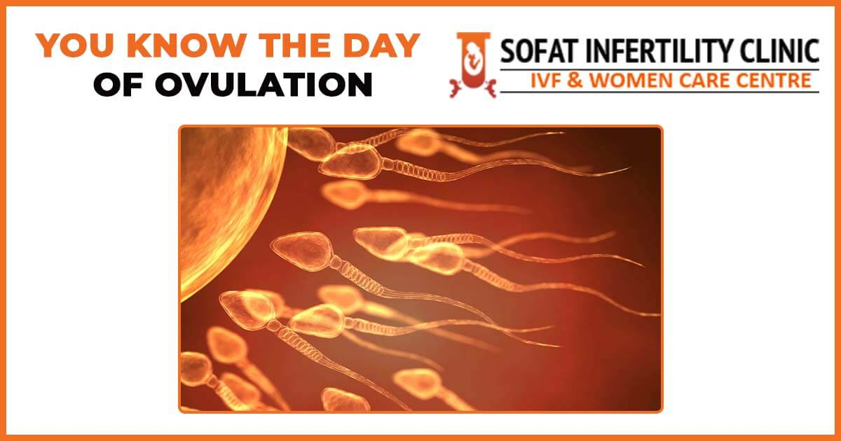 You know the day of ovulation