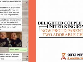 Delighted Couple from United Kingdom, Now Proud Parents of Two Adorable Child