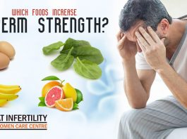 Which foods increase sperm strength