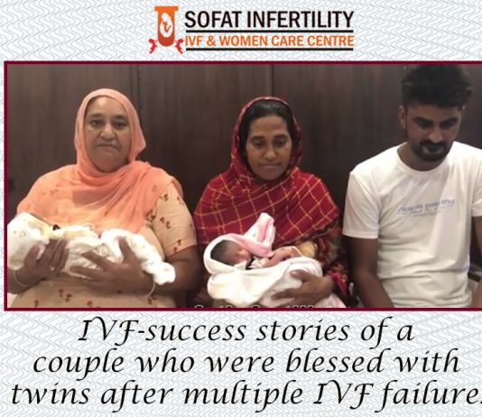 IVF-success stories of a couple who were blessed with twins after multiple IVF failures