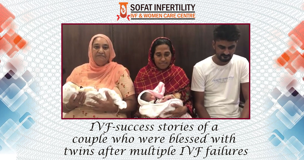 IVF-success stories of a couple who were blessed with twins