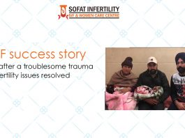 IVF success story – Twins after a troublesome trauma Infertility issues resolved Mukerian