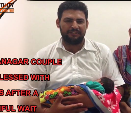 Sri Ganganagar couple gets blessed with twins after a painful wait 2