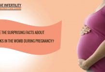 What are the surprising facts about baby kicks in the womb during pregnancy