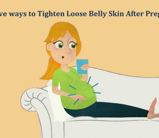 Effective ways to Tighten Loose Belly Skin After Pregnancy