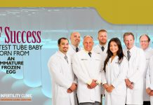 IVF Success First Test Tube Baby born from an immature frozen egg