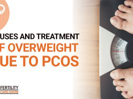 Causes and treatment of overweight due to PCOS