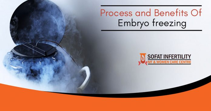 Process and benefits of Embryo freezing