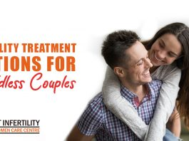 Fertility treatment options for childless couples