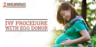 IVF procedure with Egg donor