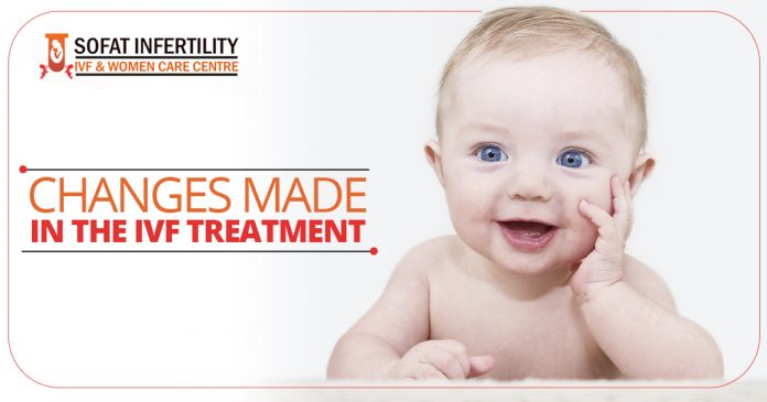 Changes made in the IVF treatment