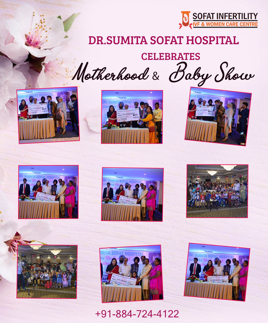 Dr. Sumita Sofat organized a Motherhood & Baby Show