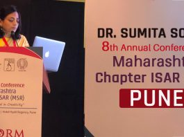 Dr. Sumita Sofat has been Invited as FACULTY for MACORM 2019 - 8th Annual Conference Maharastra Chapter ISAR (MSR).
