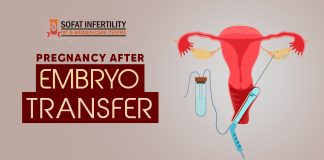 Pregnancy after embryo transfer