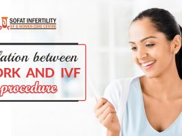 Relation between work and IVF procedure