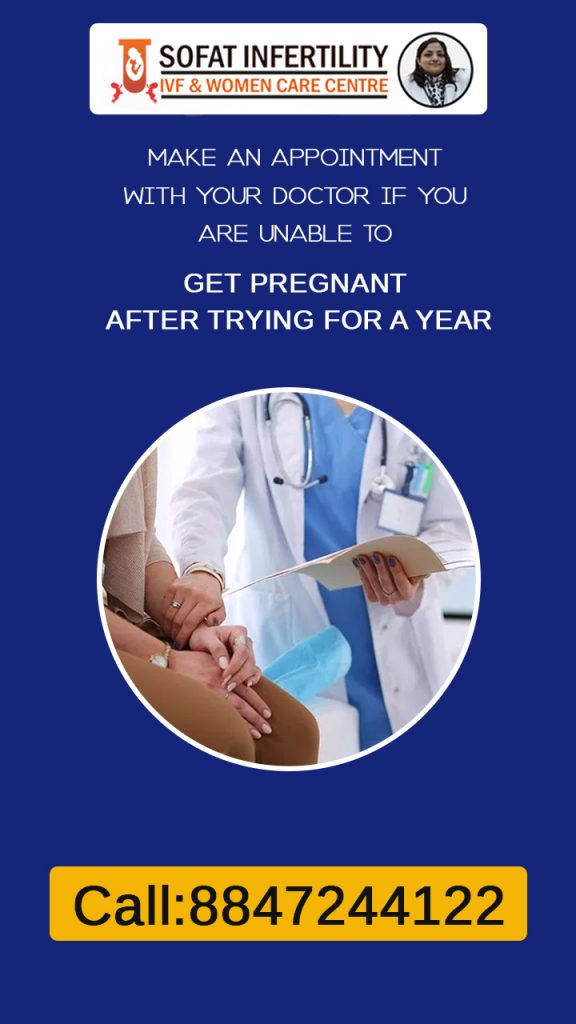 Some people don't any visible symptoms of blocked fallopian tubes so it is good to visit a doctor if you can not get pregnant after one year of trying.