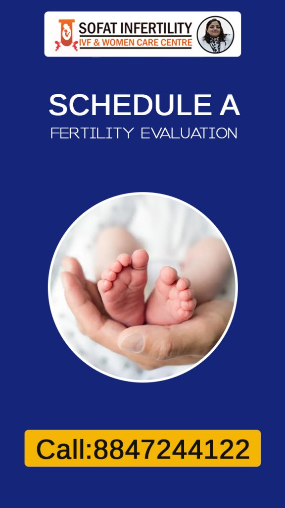If you are 35 or if you are trying to get pregnant from one years then it is good to schedule a fertility evaluation.