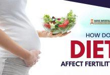 How does diet affect fertility