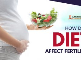 How does diet affect fertility