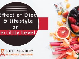 Effect of diet and lifestyle on Fertility Level