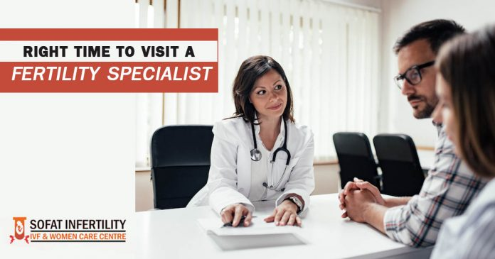 Right Time to Visit a Fertility Specialist