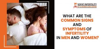 signs and symptoms of infertility in men and women