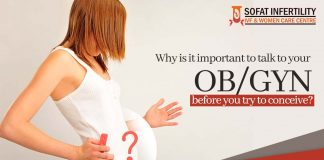 Why is it important to talk to your OB GYN before you try to conceive