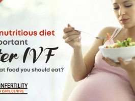 Why nutritious diet is important after IVF and what food you should eat