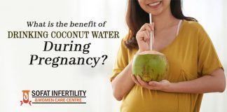 What is the benefit of drinking coconut water during pregnancy