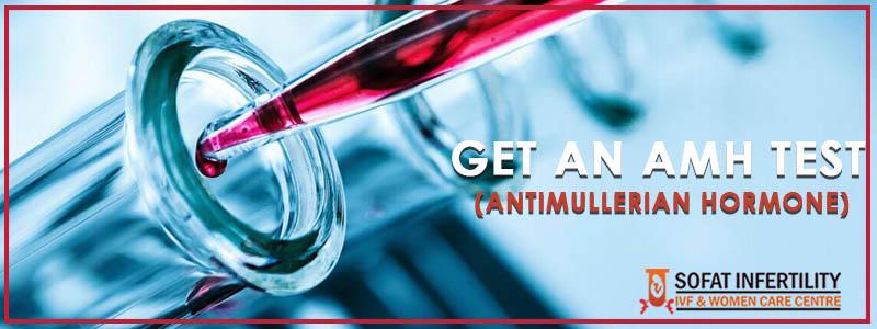 Get An AMH Test (Antimullerian Hormone)
