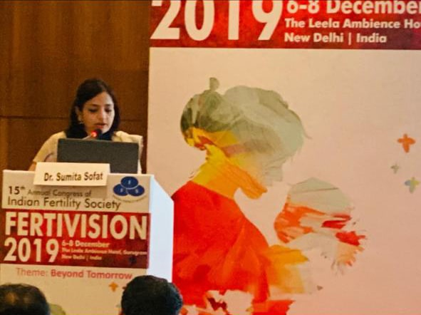 Dr. Sumita Sofat Lecture at Event Fertivision 2019
