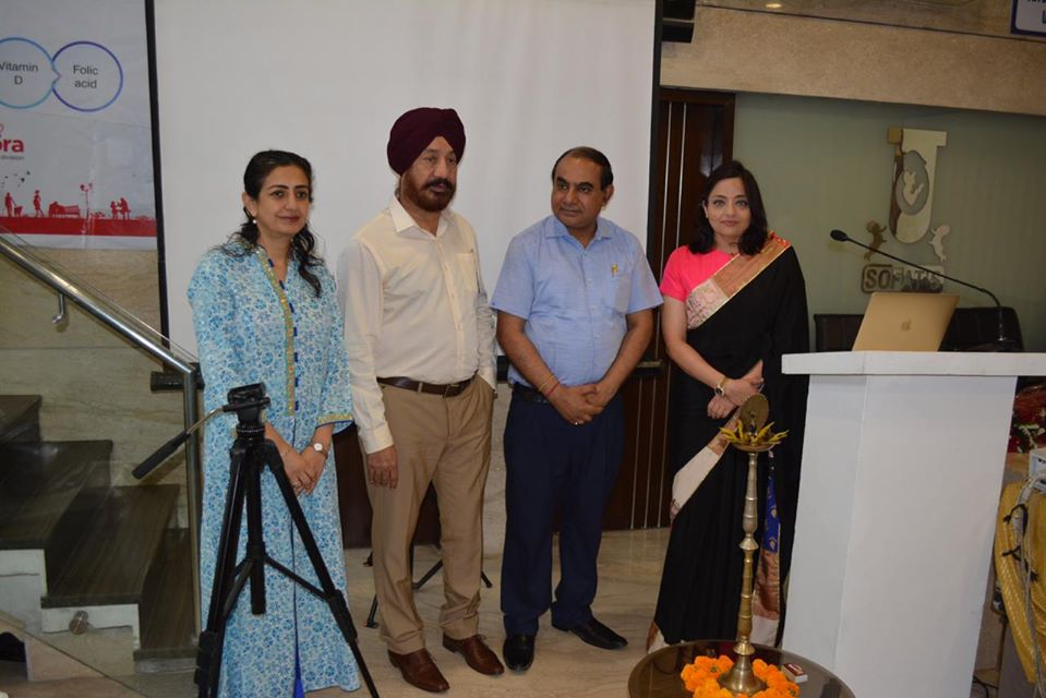 Dr. Sumita Sofat organizing training program in infertility