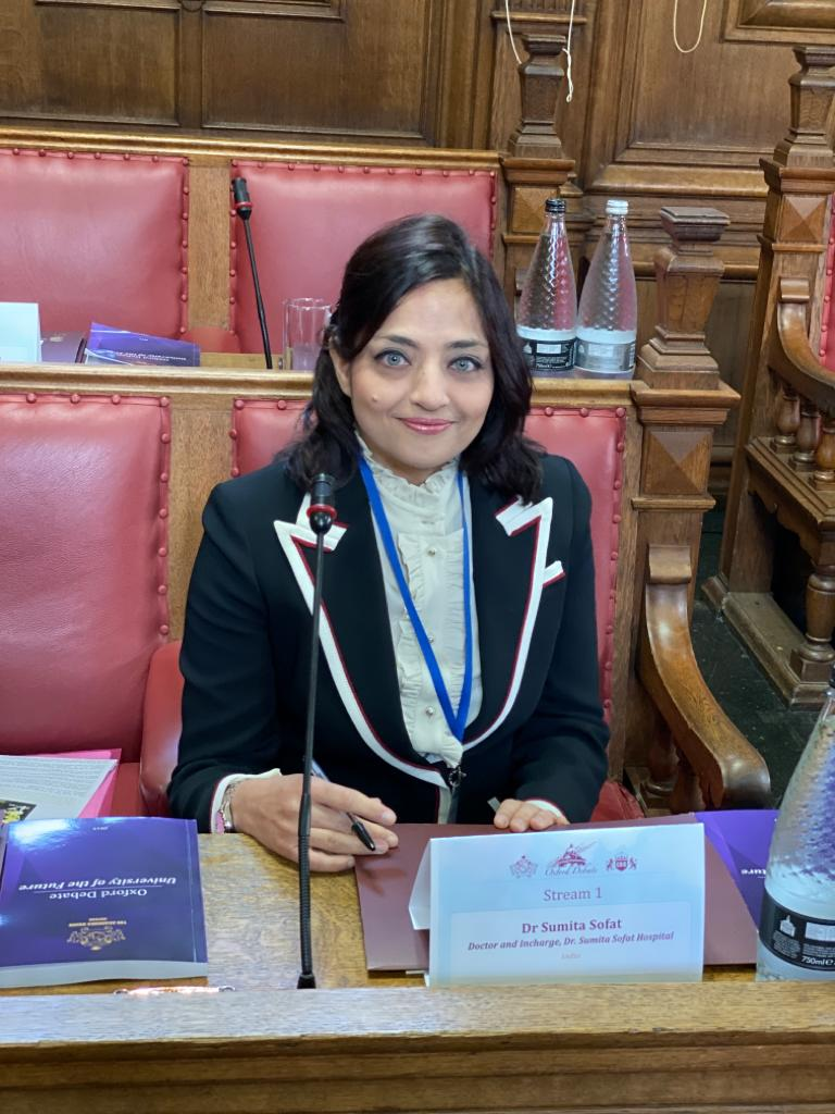 Lecture With Dr.Sumita Sofat: Oxford Debate 'Medical Education Molds The Future Of Medicine'