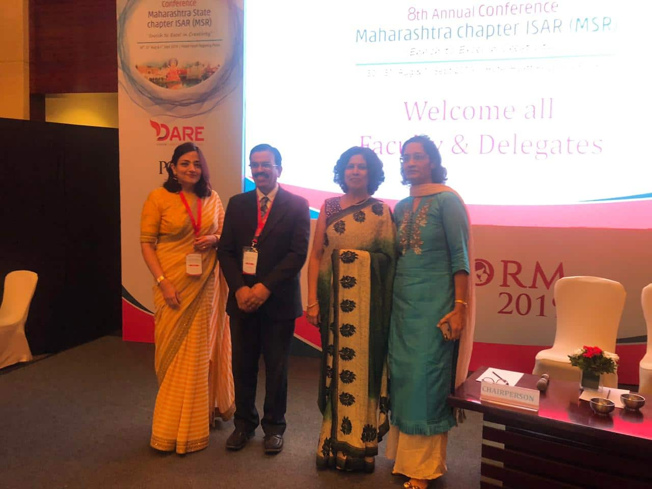 Dr. Sumita Sofat Has Been Invited As FACULTY For MACORM 2019 – 8th Annual Conference Maharastra Chapter ISAR (MSR)